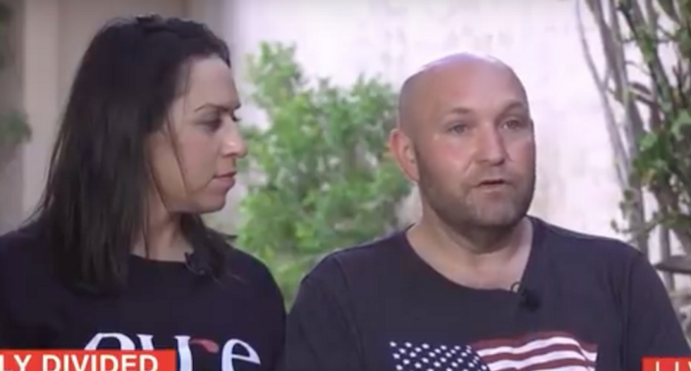 'I believed a lie!' Disillusioned Trump voter confesses he won't vote for president again after wife is deported