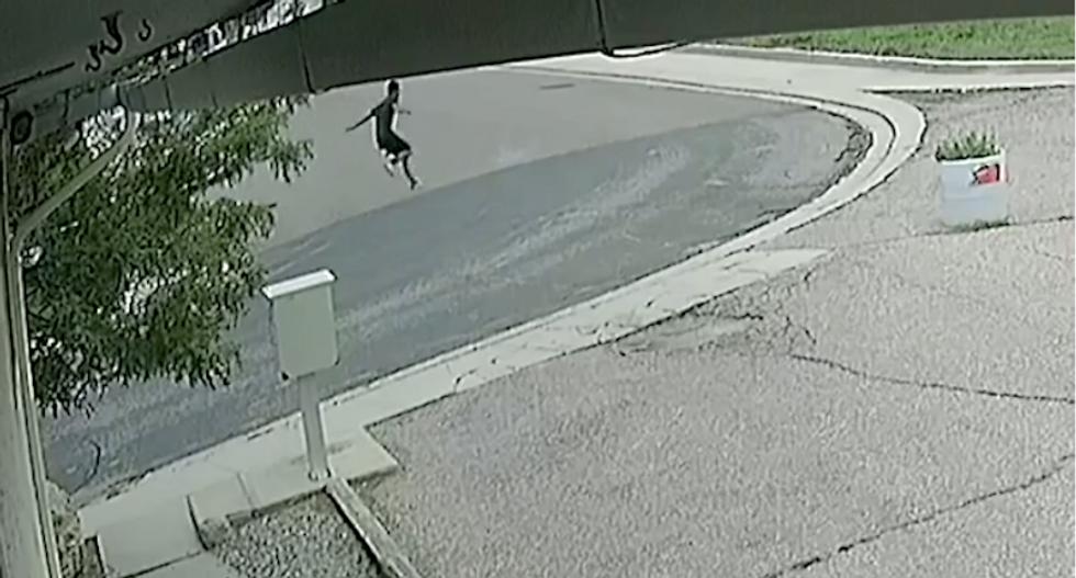 Disturbing video shows cops fatally shooting black teen in his back as he runs away