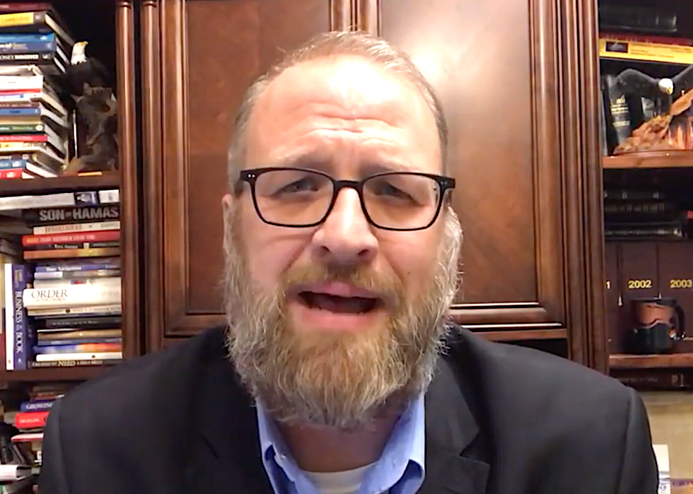 Christian pastor running for Colorado House seat thinks women's pants are of the devil