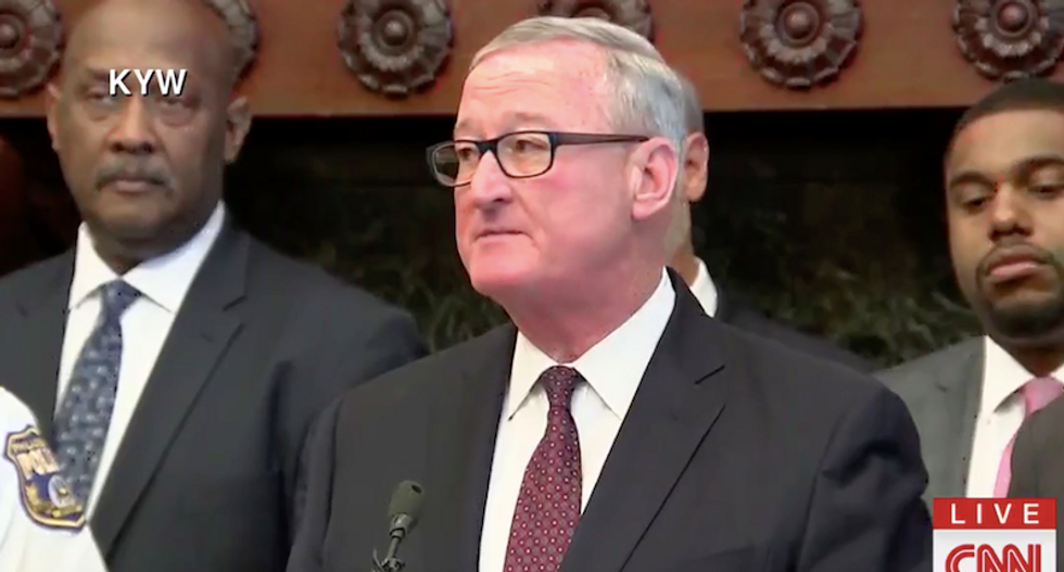 Philly Mayor delivers powerful message to lawmakers on gun violence: 'step up, or step aside'
