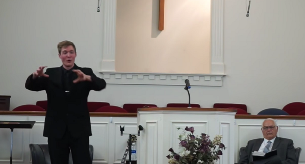 This atheist went off after a preacher accused scientists of lying about the sun