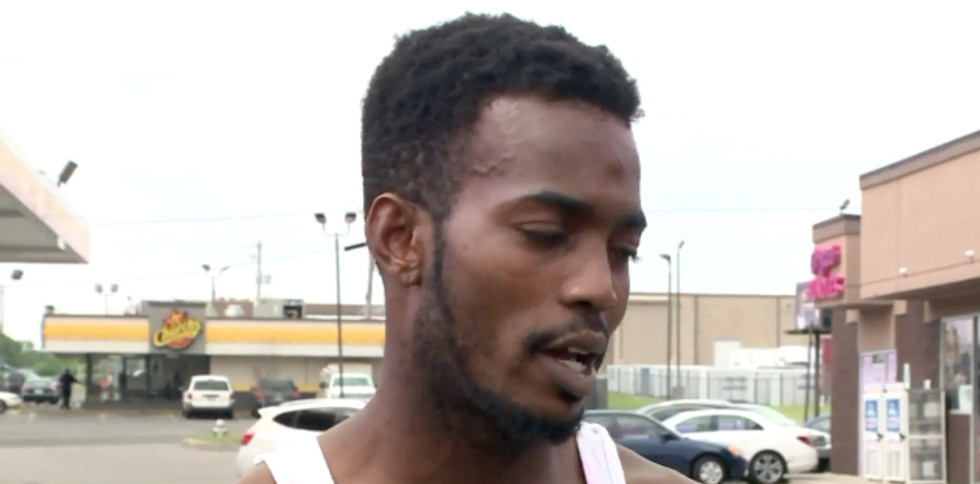 Gas station clerk pulls gun on black man over soda top-off — and cops make him pay twice for spilled drink
