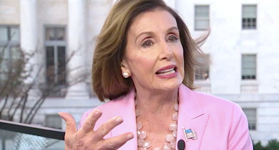 'I think Russia has a hand in this': Nancy Pelosi thinks Ukraine scandal goes even deeper