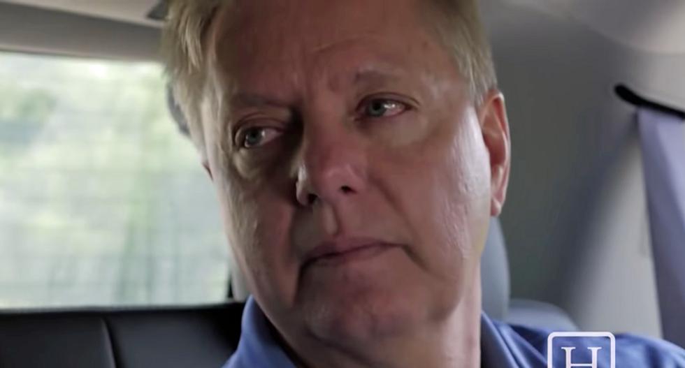 'As good a man as God ever created': Lindsey Graham once cried explaining his love for Joe Biden