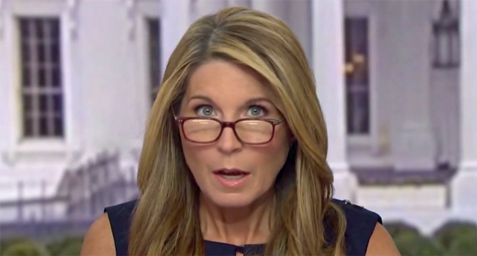 'I have to fact-check that BS': Nicolle Wallace debunks Trump's 'big lie' on impeachment