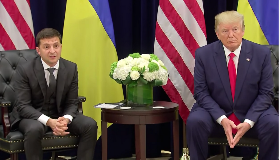 Pentagon officials distance themselves from Trump's call to Ukraine: report