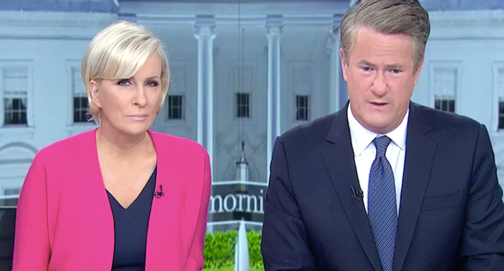 'The right to murder?' MSNBC's Joe and Mika warn Trump and Giuliani are claiming terrifying new powers