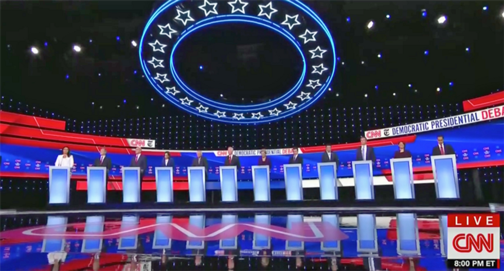 Here are 3 winners and 4 losers from the CNN/NYT Democratic presidential primary debate