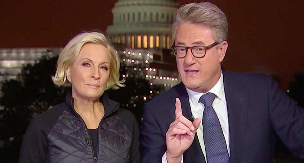 MSNBC's Morning Joe rains hell on Democrats for arguing over 'academic politics' instead of Trump's 'threat to democracy'