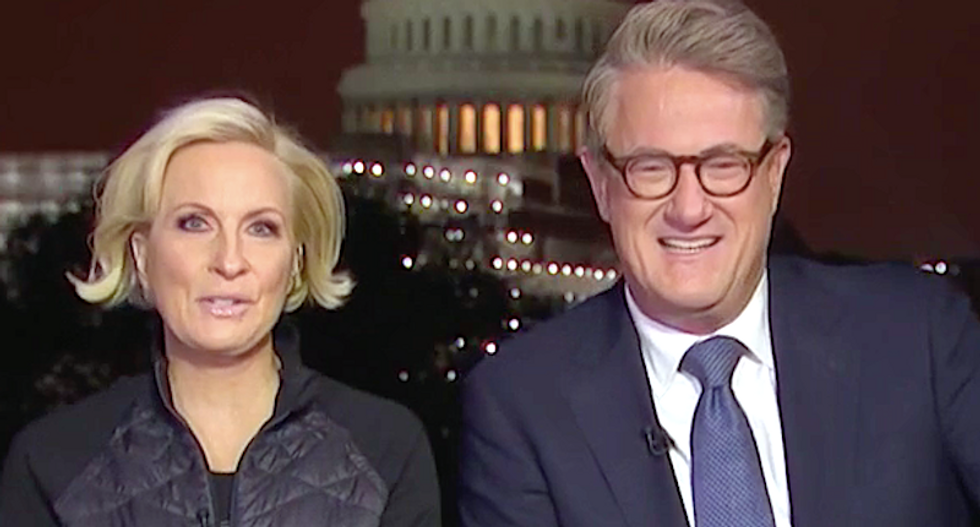 MSNBC's Morning Joe hilariously busts Trump Jr's hypocrisy with video of his dad bragging about nepotism