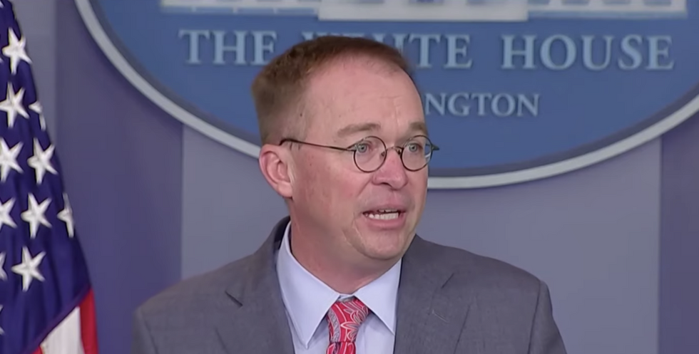 An avalanche of confessions: Trump's chief of staff just admitted a stunning amount of wrongdoing on live TV