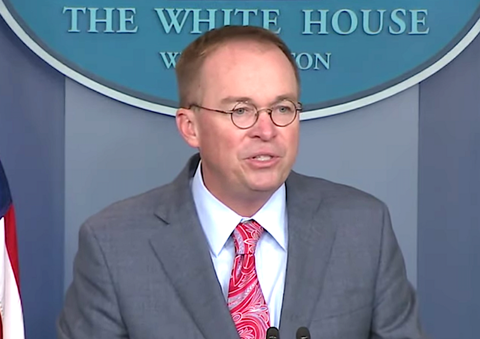 Mick Mulvaney just admitted to a 'textbook definition of an impeachable offense': Obama lawyer
