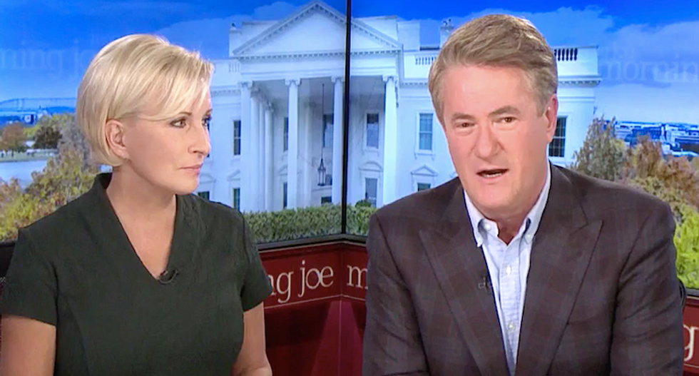 'This was the smoking gun!' MSNBC's Morning Joe explains why Mulvaney 'confession' could end Trump presidency