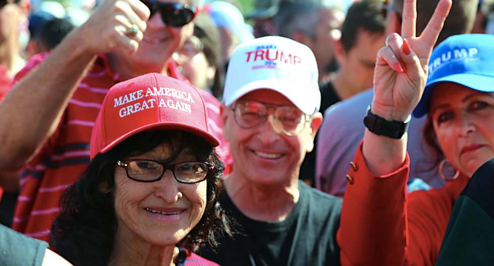 Diehard Trump fans explain their love for the 'orange' president: 'He's just like a regular cab driver dude'