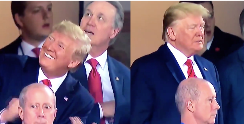 Republican Party paid $14,000 for Trump to get booed at the Nationals Game in a luxury suite