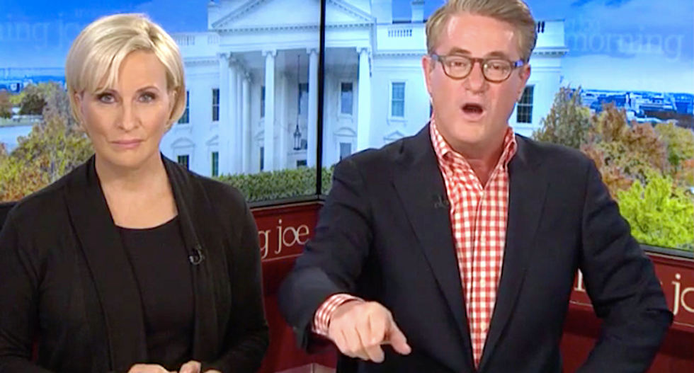 'You can smell the corruption': MSNBC's Morning Joe burns Nikki Haley for selling her soul to take Pence's job