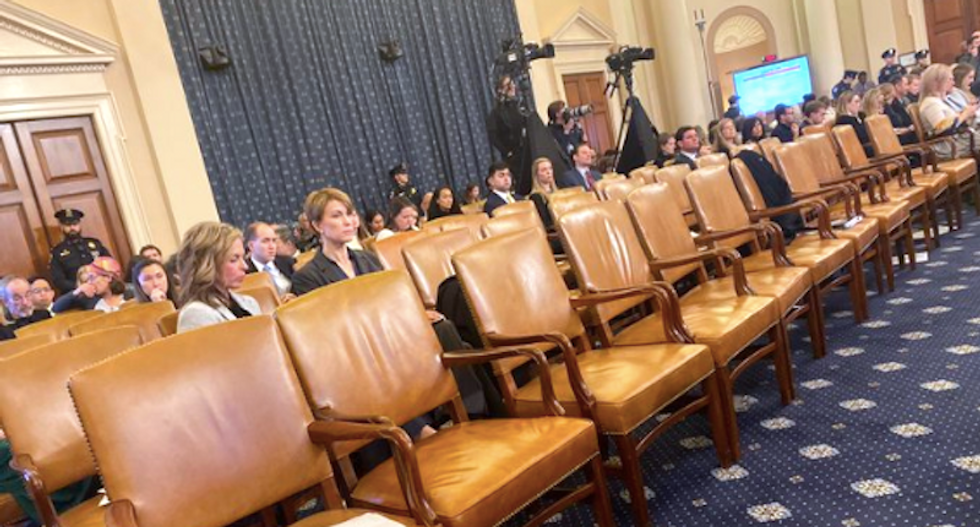'Unusual': Reporters surprised as a large swath of Republicans go missing during Sondland testimony