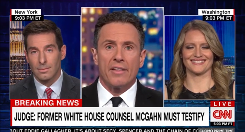 Trump adviser smacked down on CNN for attacking judge who ruled McGahn must testify