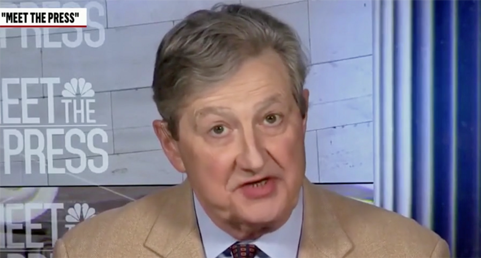 Republican John Kennedy is 'an addled Russian agent' for going 'full Devin Nunes' on TV: conservative