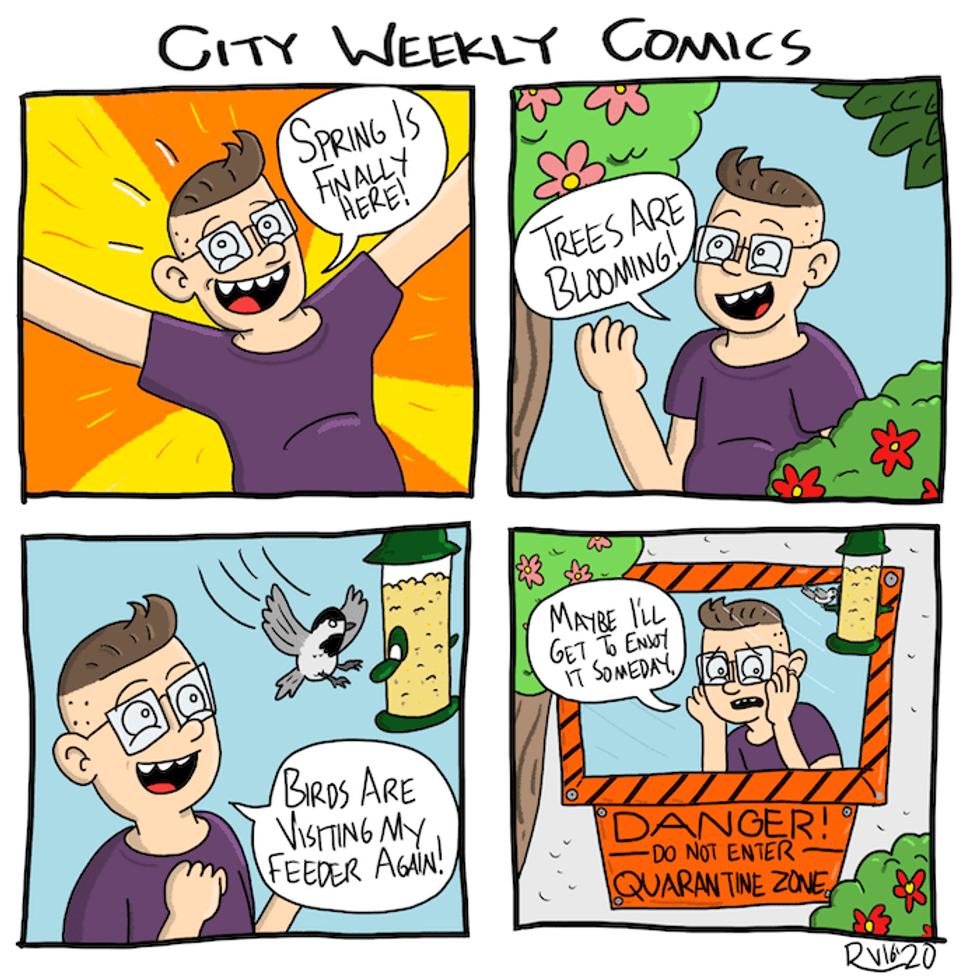 Salt Lake City Weekly Coronavirus Comic