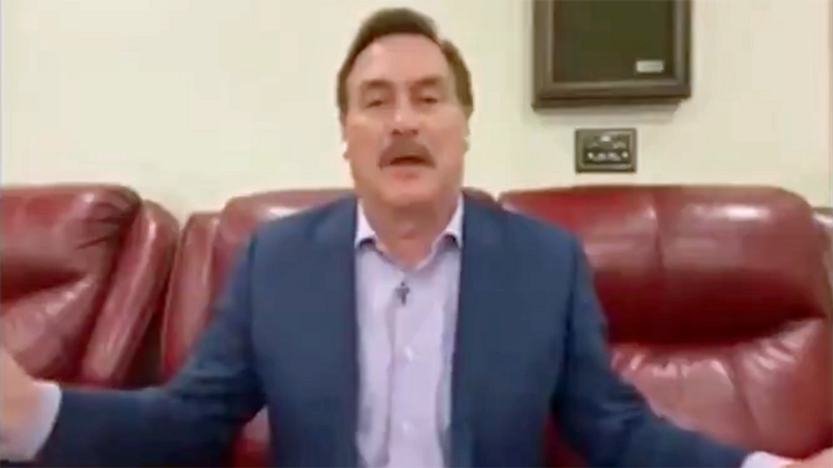 WATCH: Mike Lindell whines about 'fake people' after Bed, Bath and Beyond drops MyPillow