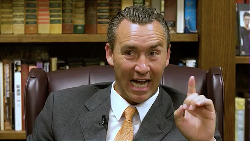 Louisiana anti-vaccine pastor explains why he preaches COVID-19 is a lie: 'I'm not a politician I'm a prophet'