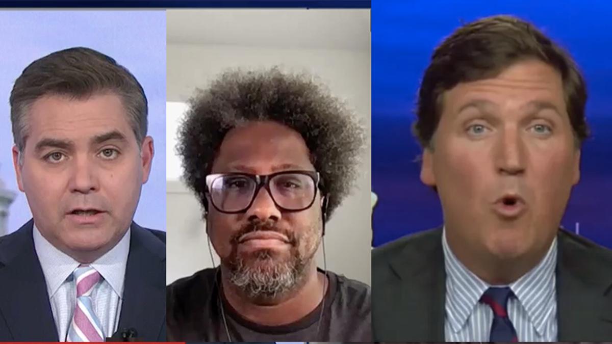 CNN's Acosta and Kamau Bell skewer Fox News' Tucker Carlson for 'putting Black people in danger'