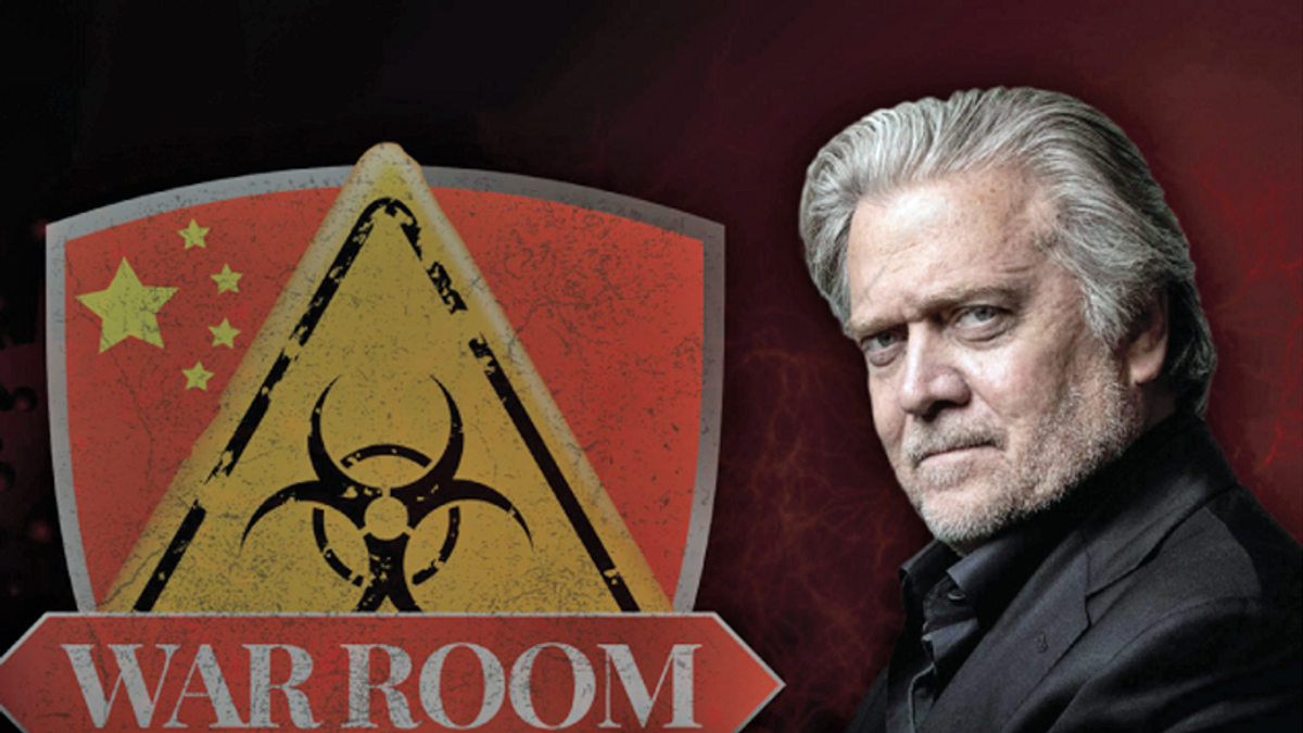 Feds target Steve Bannon-linked company for the 'unlawful spreading of COVID-19 misinformation'