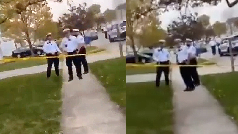 Ohio cops say 'blue lives matter' after colleague shoots and kills teenage girl