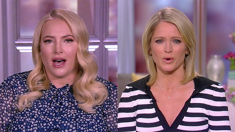 Meghan McCain lashes out at View co-host for being concerned about Jan. 6 attack accountability