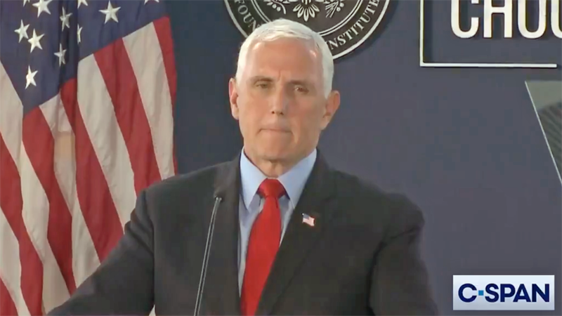 Mike Pence breaks with Trump, wants GOP to be 'the party of the Constitution'