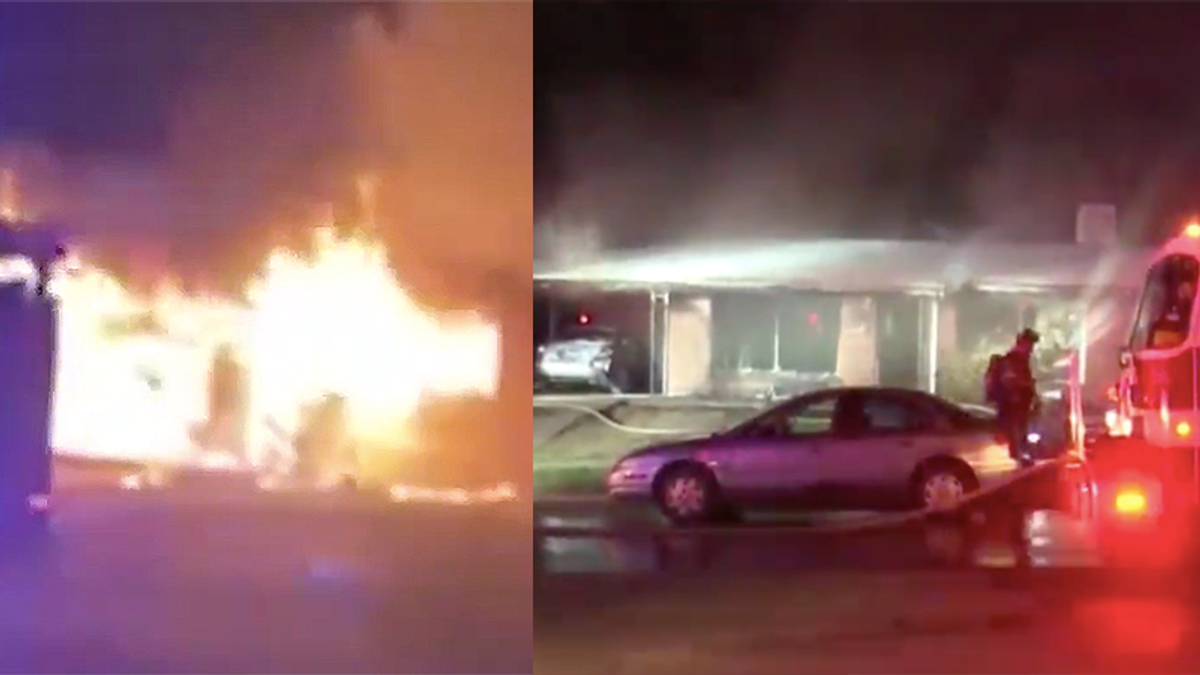 Texas man sets house on fire after concluding the family living there didn't follow the Bible