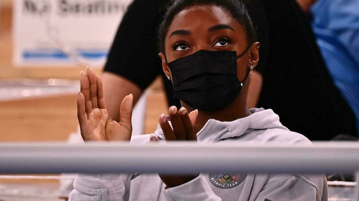 Gymnast Simone Biles still struggling with 'petrifying' mental block
