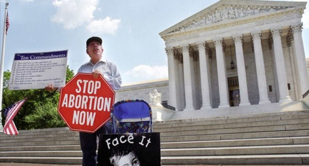 Abortion foes are playing a dangerous game