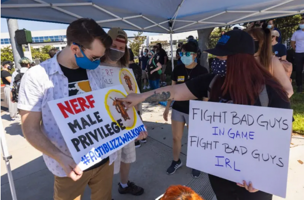 Activision Blizzard accused of worker intimidation, union busting