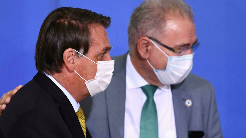 Brazil's health minister tests positive for COVID-19 at UN gathering