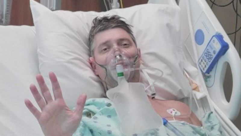 Houston firefighter put off getting vaccinated — now he needs new lungs to survive