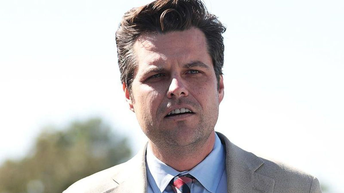 Matt Gaetz's alibi goes down in flames as fact checkers find 'nothing to support' his claim