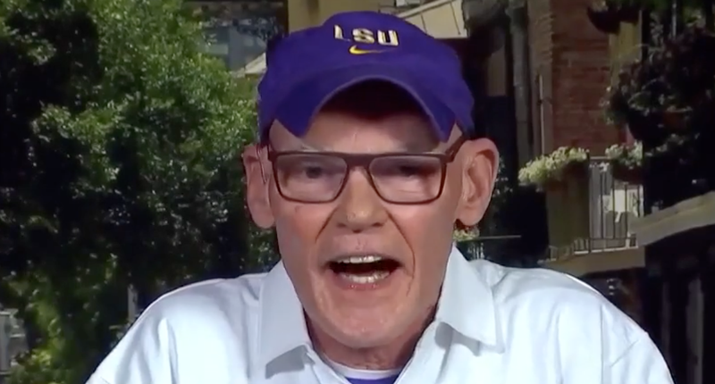 'Go ahead blow yourself up': James Carville calls Mitch McConnell's bluff after filibuster tantrum
