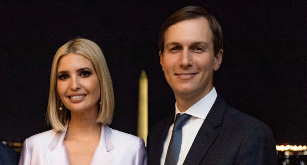 Jared and Ivanka attend maskless 'Trump administration Jerusalem reunion' with 'Back to the Future' vibe: report