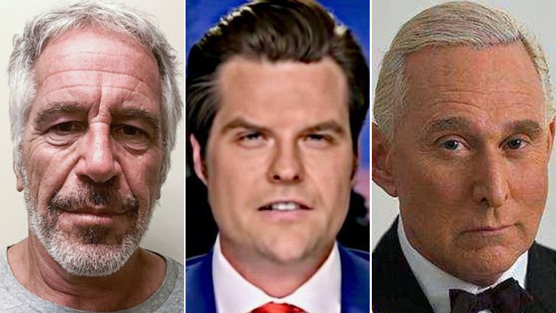 Matt Gaetz used campaign cash last quarter to pay Roger Stone -- and lawyer who represented Jeffrey Epstein