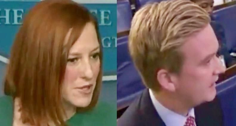 Jen Psaki buries Fox News' Peter Doocy: Trying to 'disprove a negative' is 'never the responsible approach'