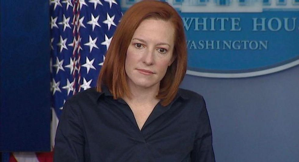 Psaki smacks down reporter comparing Biden to his predecessor: Trump suggested 'people inject bleach'