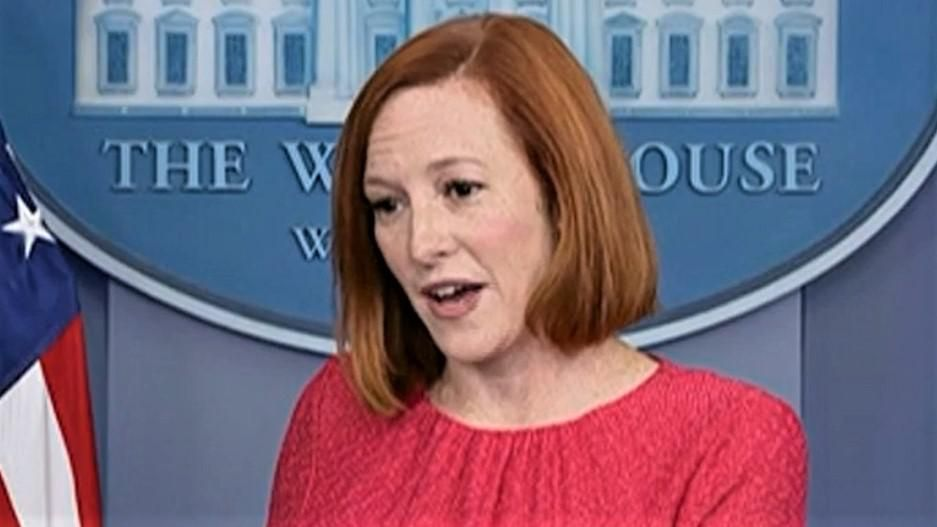 Jen Psaki cuts down Peter Doocy when he asks if vaccine mandates are why Biden's friend can't get hospital care