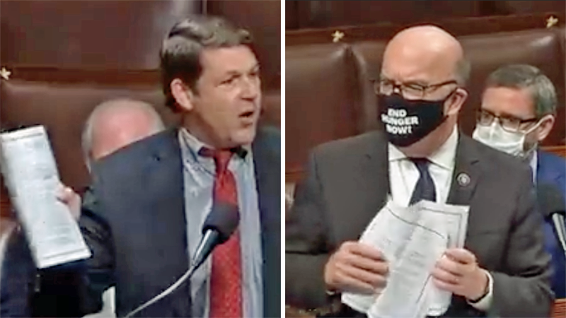 Texas Republican's debt limit stunt massively backfires after Dem colleague embarrasses him on the House floor