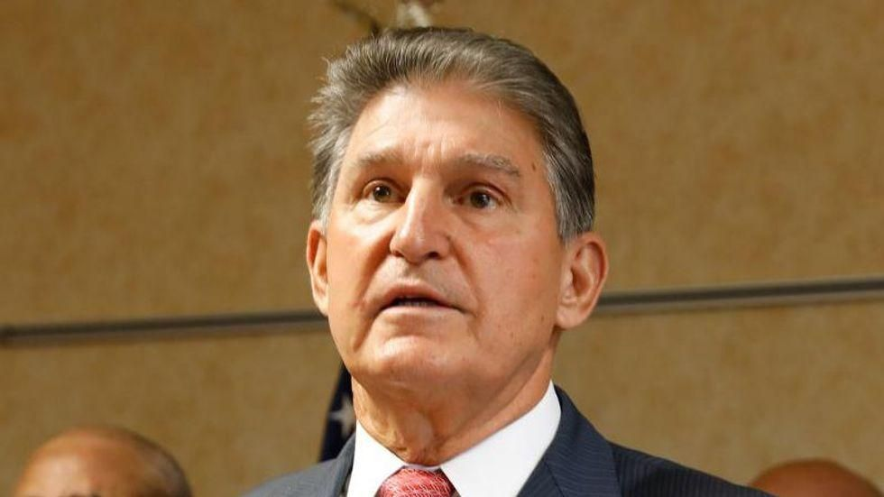 'Privileged' millionaire Joe Manchin blasted for claim jobs bill could create 'entitlement mentality'