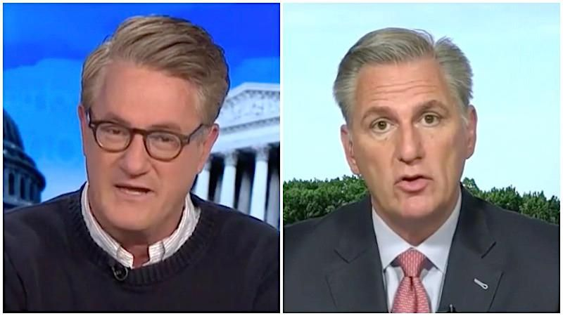 Morning Joe suggests Kevin McCarthy be 'arrested for stupidity' after latest  Jan 6th comments