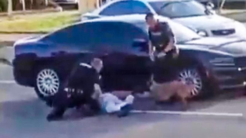 K-9 cop lets police dog bite Black man — and now the FBI is investigating