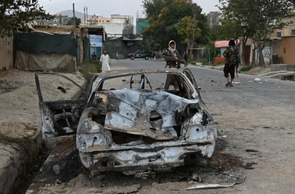 Pentagon admits August 29th Kabul drone strike killed 7 children -- and no ISIS-K fighters