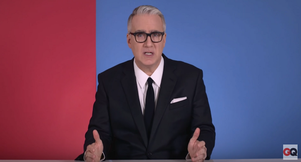 WATCH: Keith Olbermann's urgent Election Day plea: A vote for Trump is 'national suicide'